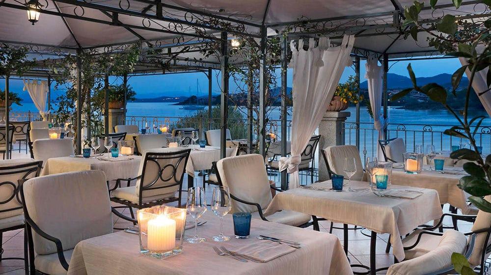 Blu Restaurant, Golfo Aranci, Sardinia